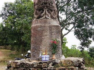 The Mysterious Stone Pillar Of Dam Pagoda In Bac Ninh