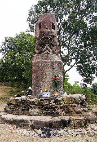 The Mysterious Stone Pillar Of Dam Pagoda In Bac Ninh