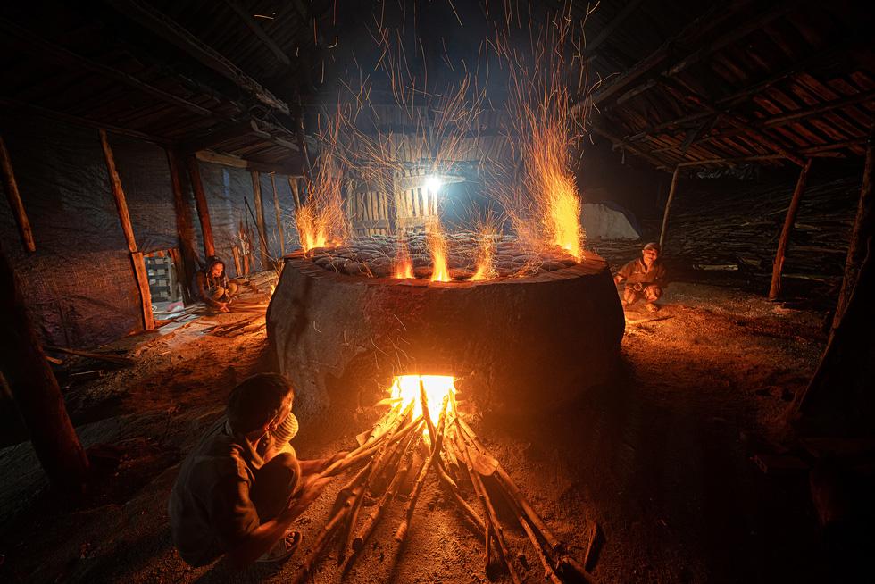 Heritage - Hành trình di sản 2020,Ảnh di sản,Làng muối Tuyết Diêm,Muối hầm Tuyết Diêm
