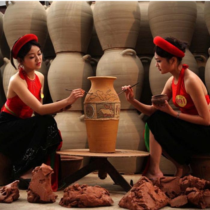Back to Bac Ninh to visit Phu Lang pottery village