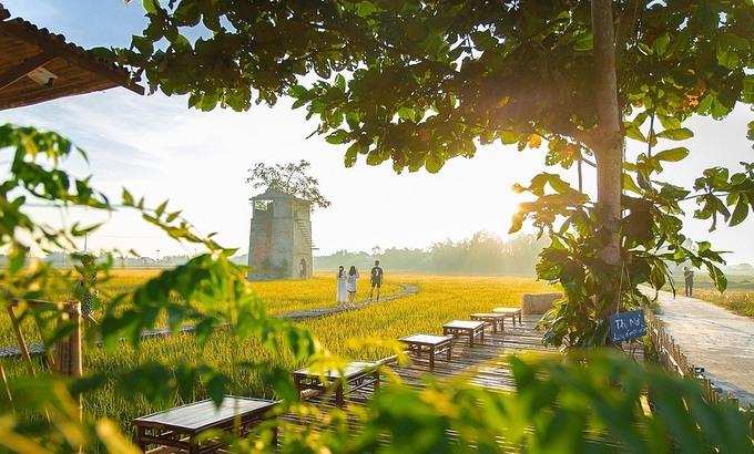 Quang Nam tourism, Hoi An tourism, tourists, check-in, old brick kiln, café, Duy Vinh, Destination,