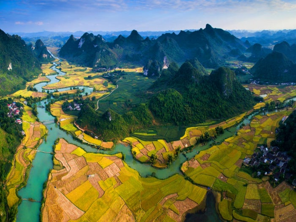 Cao Bang, Non Nuoc Cao Bang, UNESCO, geopark, world best views