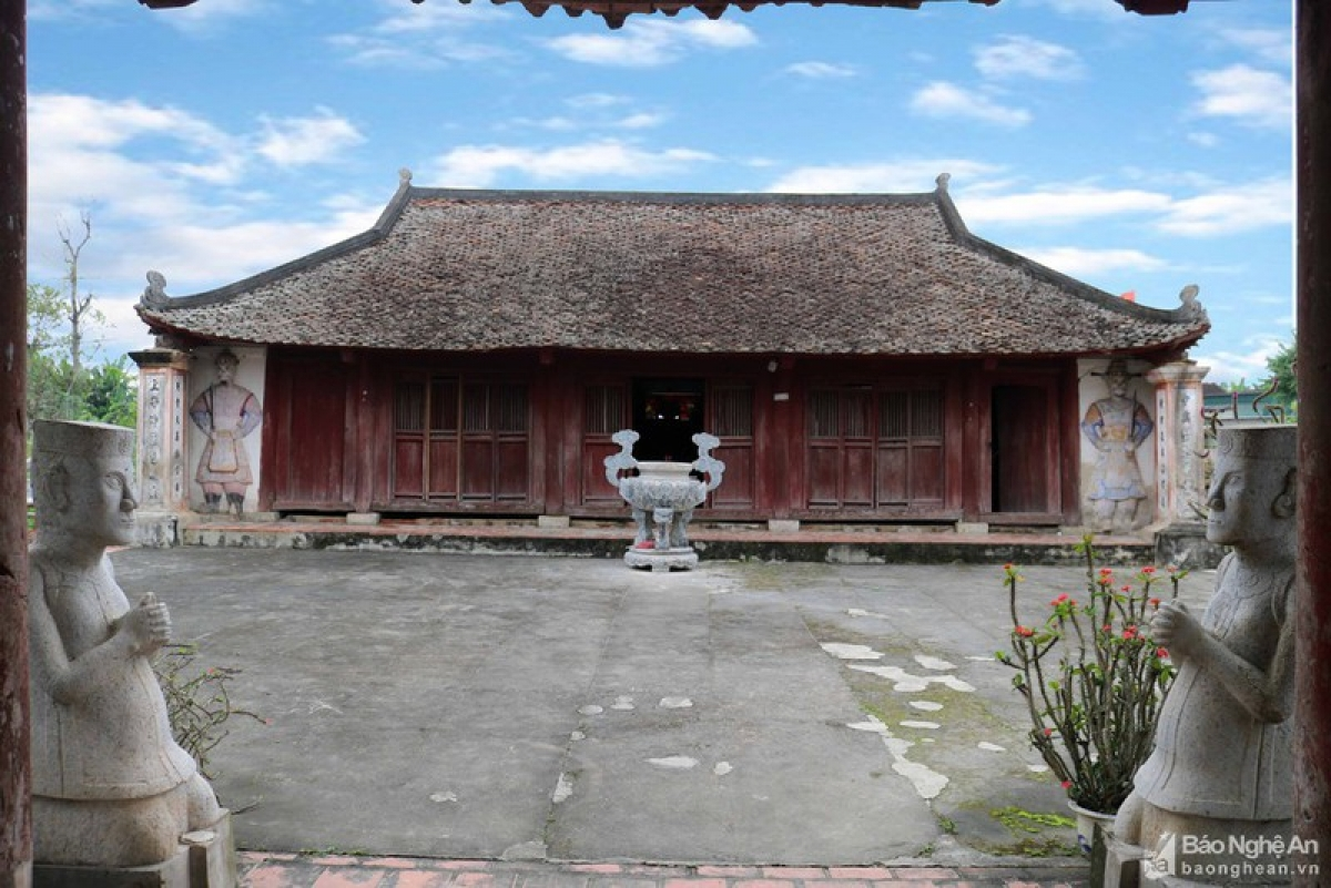 Nghe An, Ca Temple, Hoa Thanh, Yen Thanh, architectural value