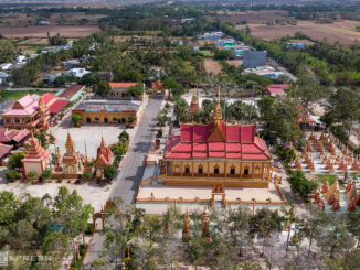 Largest Khmer Pagoda in the West