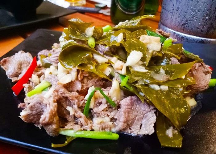 Quang Tri cuisine,Buffalo leaf,